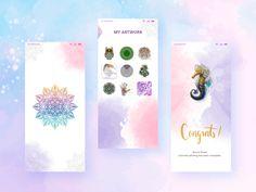 Coloring Book Mobile App by Lê Hải Đăng