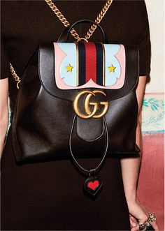 Gucci backpack / street style fashion #desginerbag #luxury #gucci #guccibag #streetstyle #fashion / Instagram: @fromluxewithlove
