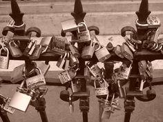 """Locks"" of love - Florence, Italy"