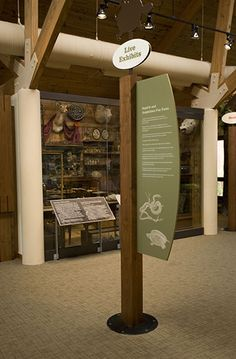 Three Lakes Nature Center | Exhibit Designer: Riggs Ward