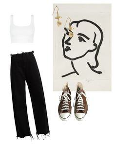 """""""Jessie"""" by niinasmith604 ❤ liked on Polyvore featuring Marques'Almeida, Converse and Vivienne Westwood"""
