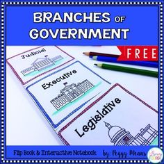 This is a quick fun way for primary students to learn or review the three branches of government.  Wonderful activity for Constitution Day.My kiddos LOVE flip books!  If I say: We are going to make a flip book!, I hear: I love flip books!INCLUDED RESOURCES2 OptionsFlip BookInteractive NotebookTEACHER-FRIENDLY FEATURES Print