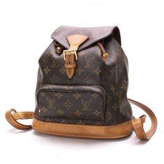 Authentic Louis Vuitton Montsouris MM Monogram Backpack M51136 10093770 in Clothing, Shoes & Accessories, Women's Handbags & Bags, Handbags & Purses   eBay