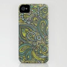 Paisley iphone cover