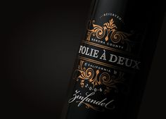 Folie à Deux Wine (Student Project) on Packaging of the World - Creative Package Design Gallery