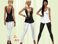 The Sims Resource: Tip Top Lace by Zuckerschnute20 • Sims 4 Downloads