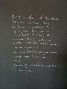 felix gonzalez-torres - his commentary on Perfect Lovers