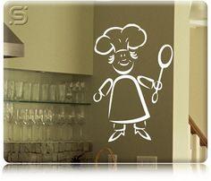 Adesivo Decorativo de Parede para Cozinha - CHEF