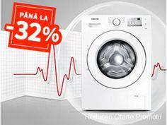 Totul la -32% Reducere. Masini de spalat! | Reduceri Oferte si Promotii in Romania | Masini de spalat rufe