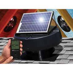 Solar Ed Attic Fan With Upgraded Controller By U