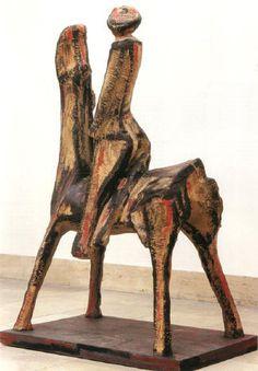 Marini, Marino (1901-1980) - Horse with Rider