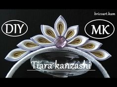 Christmas DIY for beginners.Tiara kanzashi.Headband.bricoart.kam