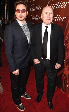 Robert Downey, Jr. & Robert Duvall from 2015 Palm Springs Film Festival.