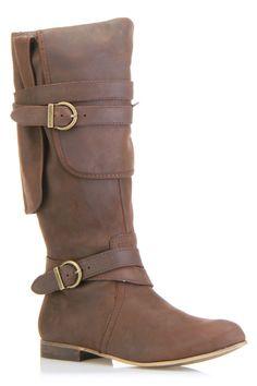 Belt Embellished Boot
