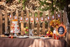 Fall/Autumn Bridal/Wedding Shower Party Ideas | Photo 24 of 25 | Catch My Party