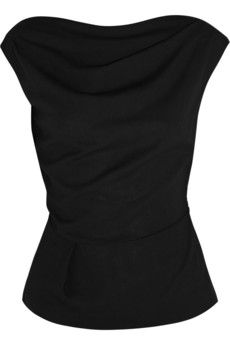 Vivienne Westwood Anglomania Prophecy two-way crepe top | NET-A-PORTER