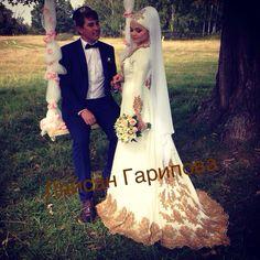 платье на никах,nikah,dress for nikah,muslima,wedding,кружево,вышивка,невеста