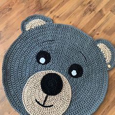 Deer Nursery, Nursery Rugs, Woodland Nursery Decor, Knot Cushion, Knot Pillow, Pouf Ottoman, Crochet Deer, Bear Rug, Reindeer Decorations