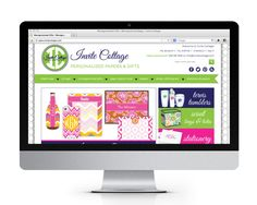 Invite Cottage website design and development by The Savvy Socialista.
