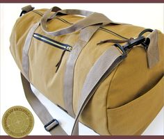 The Safari Duffle | Sew4Home