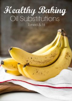 Oil Substitutions For #Healthy Baking