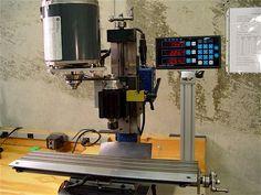 Taig Micro Mill 4-Axes CNC Conversion