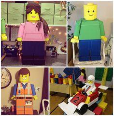 hello, Wonderful - AMAZING CARDBOARD LEGO CREATED BY TEACHER