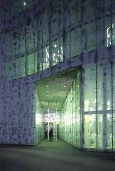 IKMZ Cottbus Technical University Library, Brandenburg, Germany :: Herzog & de Meuron Architects