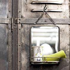 Miroir à rabats | Miroirs, Brut et Intérieur