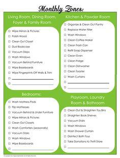 31 Days of Home Management Binder Printables: Day