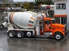 Heavy Duty Trucks, Big Rig Trucks, Dump Trucks, Cement Mixer Truck, Types Of Concrete, Oil Platform, Concrete Mixers, Oil Tanker, Vintage Trucks