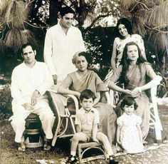"""Springtime in sepia Rahul, Indira Gandhi's """"favourite grandson"""", back when the Family was whole."""