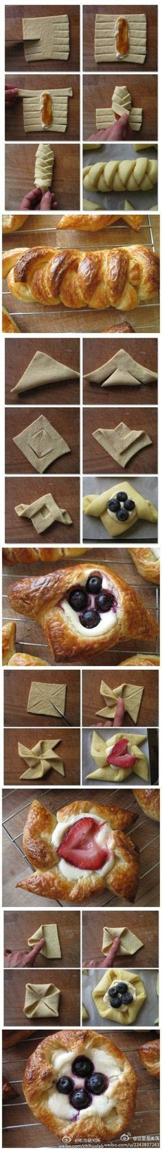 :) Pastry folding 101 #funny #silly #humor - Check out loads of funny viral images.