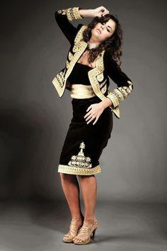 robe algérienne design oriental