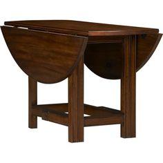 hastings gateleg table ballard designs drop leaf dining table option two finish options. Black Bedroom Furniture Sets. Home Design Ideas