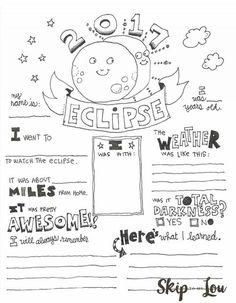 Kindergarten Solar Eclipse Craft Projects : Kindergarten
