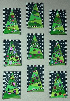 Whimsical Christmas Tree collage