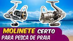 Qual molinete certo para pesca de praia ✱ Long cast molinetes fantásticos