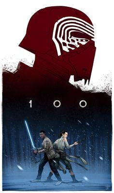 El mejor tributo gráfico a Star Wars: The Force Awakens | Pixel Monster Diseño