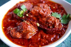 India in a Plate. 29 States and Their #Scrumptious #Cuisines. Here: Rajasthani Laal Maas