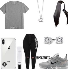 Boujee Outfits, Baddie Outfits Casual, Swag Outfits For Girls, Cute Teen Outfits, Cute Outfits For School, Teenage Girl Outfits, Chill Outfits, Cute Comfy Outfits, Girls Fashion Clothes