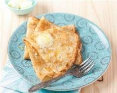 Crêpes et beurre au sucre pétillant et citron