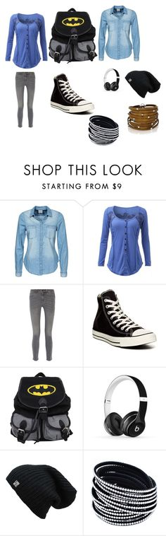 """""""nice"""" by kelachalisse on Polyvore featuring Vero Moda, MiH Jeans, Converse, Beats by Dr. Dre and Sif Jakobs Jewellery"""