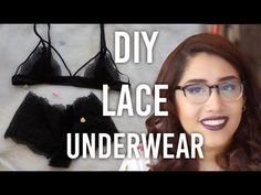 Just in time for Valentine's Day, check out this video on how to make a matching undergarment set - a lacy bra and underwear! Stay tuned on Tuesdays for art ...