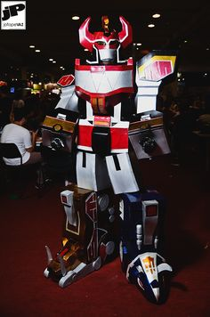 [Self] Megazord Cosplay @ Comic Con Experience 2015 - Album + Making Of Power Rangers Cosplay, Go Go Power Rangers, Awesome Cosplay, Best Cosplay, Power Rangers Megazord, Right In The Childhood, Female Cosplay, Sci Fi Weapons, 90s Kids