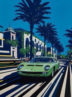 Lamborghini Miura By Tim Layzell