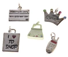 Shopping Embellishments and Charms -20pcs