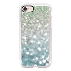 Winter Flurries - iPhone 7 Case, iPhone 7 Plus Case, iPhone 7 Cover,... ($55) ❤ liked on Polyvore featuring accessories, tech accessories, iphone case, iphone cover case, iphone cases, slim iphone case and apple iphone case
