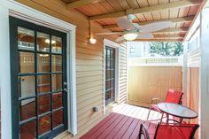 539 East Charlton Street - Single Family Home For Sale - Judge Realty - $281,000 - 2Bed/1.5Bath - 1,056SF - Savannah, GA - Back Patio