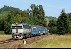 RailPictures.Net Photo: CD 754 022 2 Ceske Drahy CD 754 at Hodnov, Czech Republic by Jaroslav Dvorak